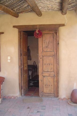 Old mesquite doors